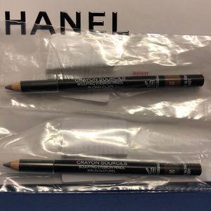 Chanel eyebrow pencils #10 and #30